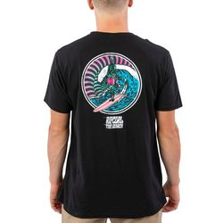 Rip Curl Mens Shred When Dead Short Sleeve T-Shirt