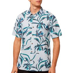 O'Neill Mens Aloha Life Button Down Short Sleeve Shirt
