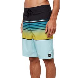 Mens Lennox Striped Boardshorts