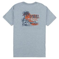 Mens Surf Club Heathered T-Shirt