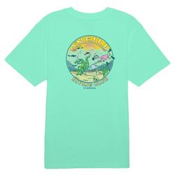O'Neill MensDiving Club Solid Graphic Short Sleeve T-Shirt