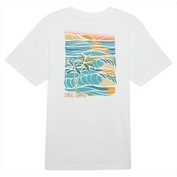 O'Neill Mens Set Tripping GRaphic Short Sleeve T-Shirt