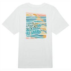 O'Neill Mens Set Tripping Graphic Short Sleeve T-Shirt