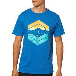 O'Neill Mens Crux Graphic Short Sleeve T-Shirt
