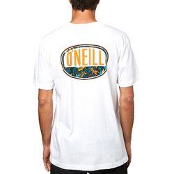 O'Neill Mens Always Summer Graphic Short Sleeve T-Shirt