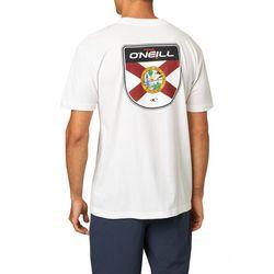 O'Neill Mens Florida Badge Short Sleeve T-Shirt