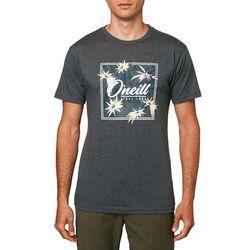 O'Neill Mens New Direction Heathered Short Sleeve T-Shirt
