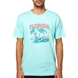 O'Neill Mens Flamingo Joe Short Sleeve T-Shirt