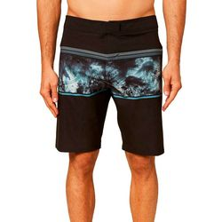 O'Neill Mens Hyperfreak Ocean Stripe Boardshorts