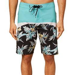 Mens Tropical Print Hyperfreak Boardshorts