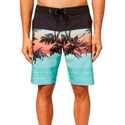 O'Neill Mens Tropical Hyperfreak Heist Boardshorts