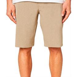 Mens Reserve Heathered Hybrid Shorts