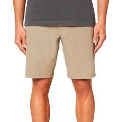 Mens Heather Reserve Hybrid Shorts