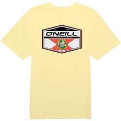 O'Neill Mens Florida Flag Solid T-Shirt