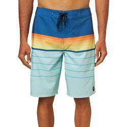 O'Neill Mens Hyperfreak Heist Stripe Boardshorts