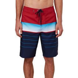 Mens Hyperfreak Heist Americana Stripe Boardshorts