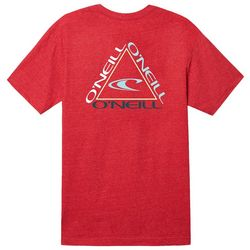 O'Neill Mens Trifecta Heathered T-Shirt