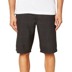 O'Neill Mens Westmont Plaid Print Shorts