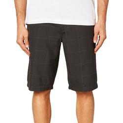 Mens Westmont Plaid Print Shorts