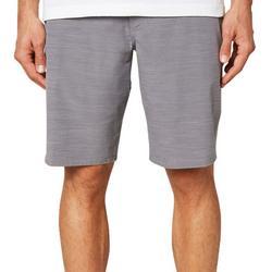Mens Locked Slub Hybrid Shorts