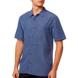 O'Neill Mens Shadow Vale Button Down Short Sleeve Shirt