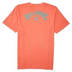 Billabong Mens Short Sleeve Arch Wave T-Shirt