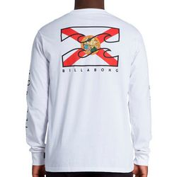 Billabong Mens Long Sleeve Native Florida T-Shirt