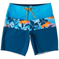 Mens Tribong Colorbloack Tropical Boardshorts