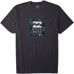 Billabong Mens Short Sleeve United Stacked T-Shirt