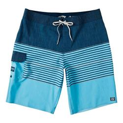 Mens All Day Heather Stripe Pro Boardshorts