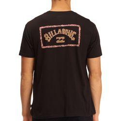 Billabong Mens A/Div Arch Short Sleeve T-Shirt