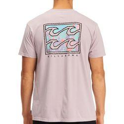 Billabong Mens Crayon Waves Short Sleeve T-Shirt