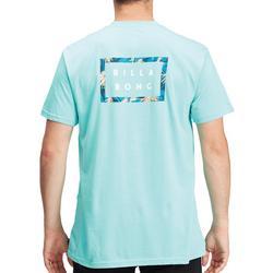 Mens Die Cut Short Sleeve T-Shirt