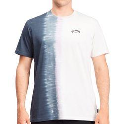 Billabong Mens Arch Wave Ombre' Tie-Dye T-Shirt
