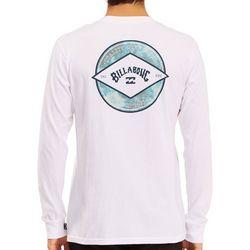 Billabong Mens Rotor Arch Water Fill Long Sleeve T-Shirt