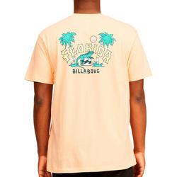 Mens Short Sleeve Florida Iguana T-Shirt
