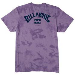 Billabong Mens Arch Wave Tie-Dye T-Shirt