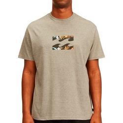 Mens Team Wave Short Sleeve T-Shirt