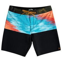 Mens Fifty50 Panel Pro Fire 19 Boardshorts