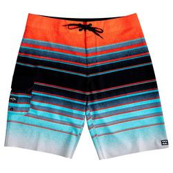 Mens All Day Stripe Pro Boardshorts