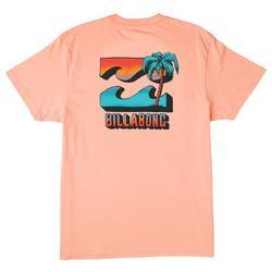 Mens BBTV Short Sleeve Wave Washed T-Shirt