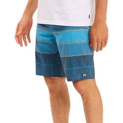 Mens All Day Heather Stripe Pro 20 Boardshorts