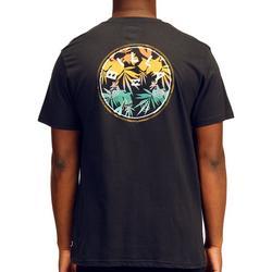 Mens Rotor Bamboo Fill Logo Short Sleeve T-Shirt