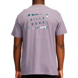 Billabong Mens Die Cut Logo Short Sleeve T-Shirt