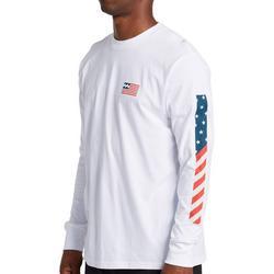 Mens Americana Long Sleeve T-Shirt