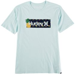 Hurley Mens One & Only Pineapple Short Sleeve T-Shirt