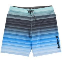 Phantom Play Striped Boardshorts