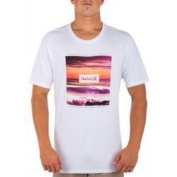 Hurley Mens Over Under Short Sleeve T-Shirt