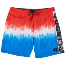 Hurley Phantom Fastlane Tie Dye Colorblock Boardshorts