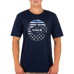 Hurley Mens Washed Independence T-Shirt